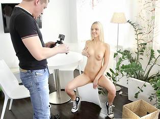 Blonde Teen Model
